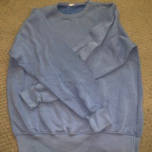 Brandy Melville Sweaters - Light blue crew neck Sweatshirt
